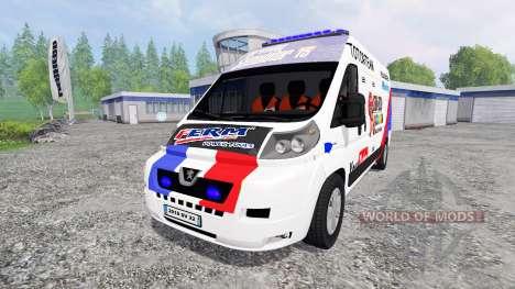 Peugeot Boxer [racing] pour Farming Simulator 2015