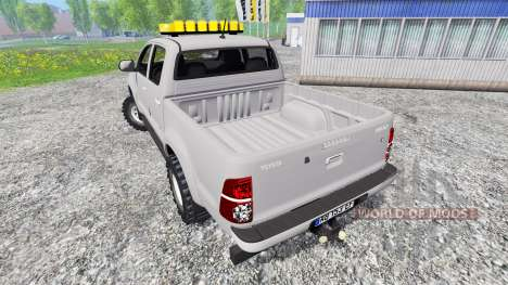 Toyota Hilux [convoi agricole] pour Farming Simulator 2015