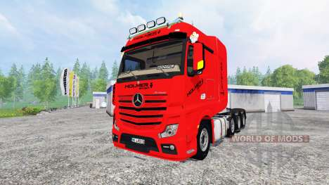 Mercedes-Benz Actros MP4 SLT pour Farming Simulator 2015