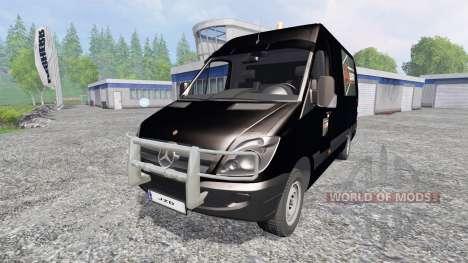 Mercedes-Benz Sprinter [Flexibouw] pour Farming Simulator 2015