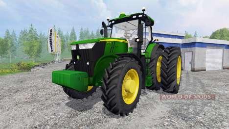 John Deere 7310R FL für Farming Simulator 2015