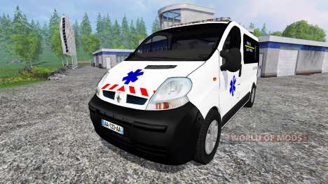 Renault Trafic Ambulance pour Farming Simulator 2015
