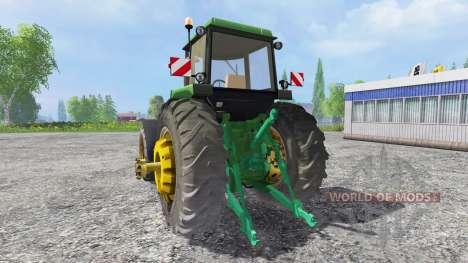 John Deere 4650 v2.0 pour Farming Simulator 2015