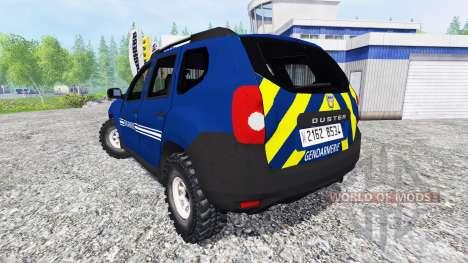 Dacia Duster [gendarmerie] pour Farming Simulator 2015