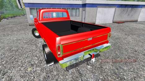 Ford F-250 1972 [highboy puller] pour Farming Simulator 2015