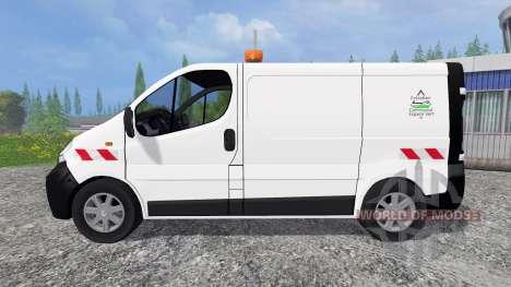 Renault Trafic ECV für Farming Simulator 2015
