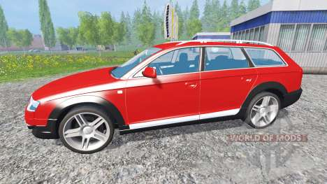 Audi A6 (C6) Allroad für Farming Simulator 2015