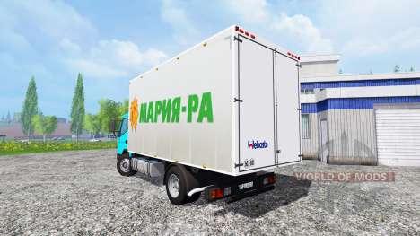 Mitsubishi Fuso [Maria-RA] pour Farming Simulator 2015