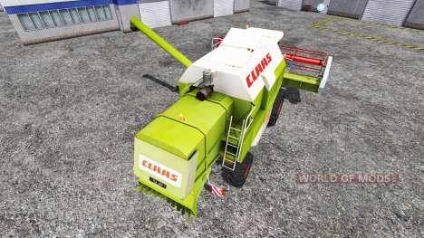 CLAAS Dominator 108SL [advanced] pour Farming Simulator 2015