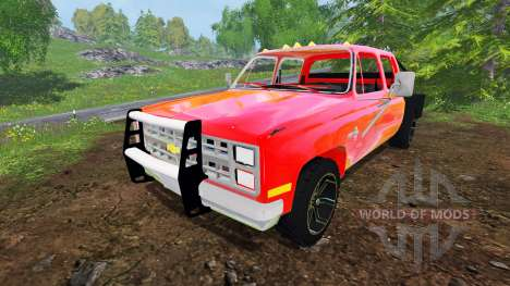 Chevrolet Silverado 1984 v2.0 für Farming Simulator 2015