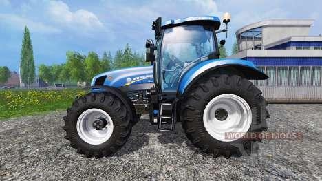 New Holland T6.175 v1.2.2 pour Farming Simulator 2015