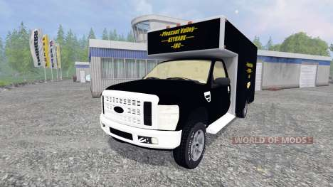 Ford F-250 [PV Rivers Goldtransporter] für Farming Simulator 2015