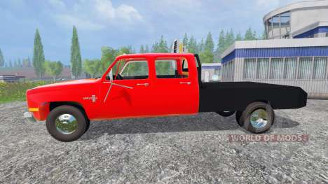 Chevrolet Silverado 1984 für Farming Simulator 2015