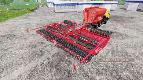 KamAZ-54115 avec chargeur de planteurs et d'un s pour Farming Simulator 2015