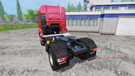 MAN TGS 18.440 [real engine] pour Farming Simulator 2015