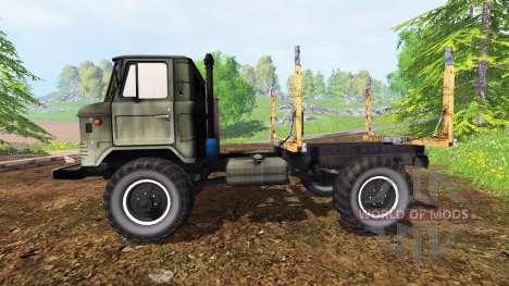 GAZ-66 [bois] pour Farming Simulator 2015