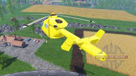 Eurocopter EC145 für Farming Simulator 2015