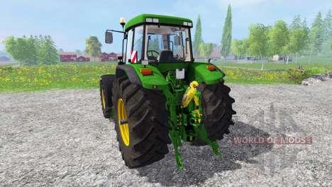 John Deere 7810 [washable] v2.0 pour Farming Simulator 2015