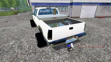 Chevrolet Silverado 1996 v1.1 für Farming Simulator 2015