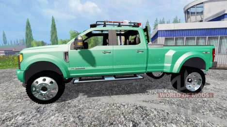 Ford F-450 Super Duty 2017 [platinum edition] pour Farming Simulator 2015