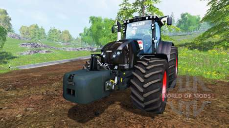 CLAAS Axion 850 [Black Edition] pour Farming Simulator 2015