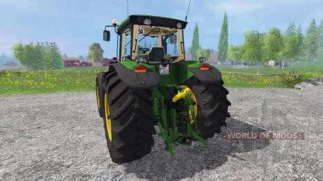 John Deere 8130 für Farming Simulator 2015