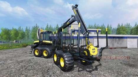 PONSSE Buffalo [autoload] v2.0 für Farming Simulator 2015
