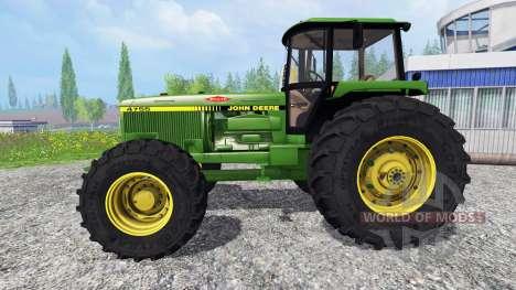 John Deere 4755 v2.1 für Farming Simulator 2015