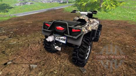 Can-Am Outlander 1000 XT pour Farming Simulator 2015