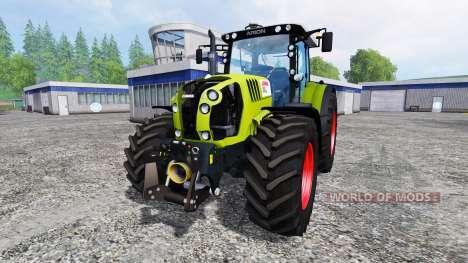 CLAAS Arion 650 v2.7 für Farming Simulator 2015