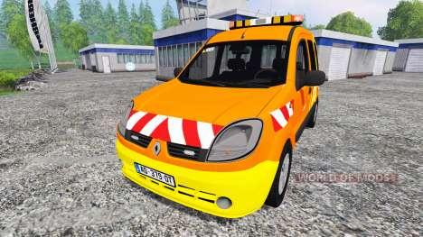 Renault Kangoo [dir sud-ouest] pour Farming Simulator 2015