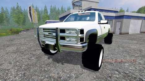 Chevrolet Silverado 1996 v1.1 pour Farming Simulator 2015
