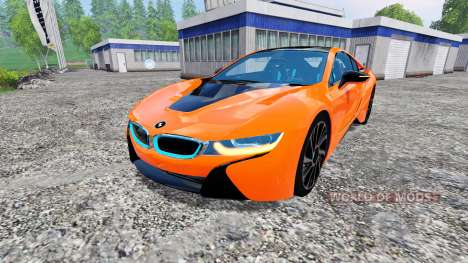 BMW i8 eDrive v1.7 für Farming Simulator 2015