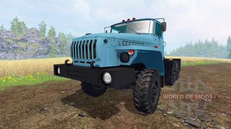 De l'oural-4320-1921-60M v1.1 pour Farming Simulator 2015