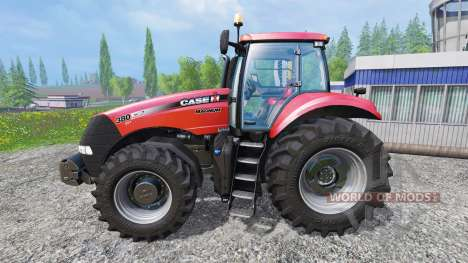Case IH Magnum CVT 380 [real engine] pour Farming Simulator 2015