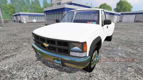 Chevrolet K3500 1994 pour Farming Simulator 2015