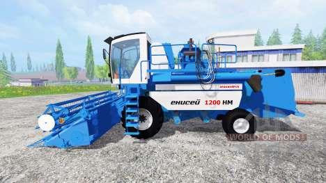 Jenissei-1200 1НМ für Farming Simulator 2015