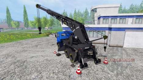 Grue KAMAZ v2.2 pour Farming Simulator 2015