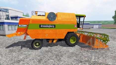 Dronningborg D7500 v2.2 pour Farming Simulator 2015