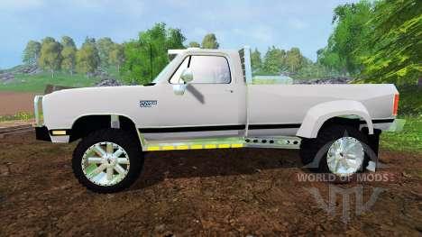 Dodge Power Ram W350 für Farming Simulator 2015