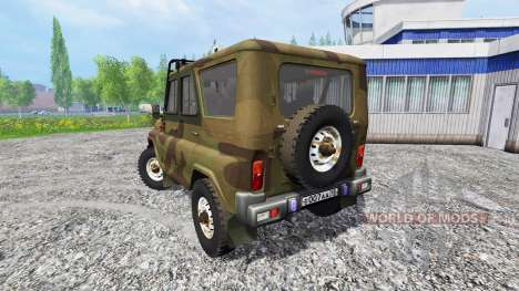 UAZ-315195 hunter pour Farming Simulator 2015