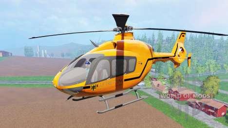 Eurocopter EC145 MedEvac pour Farming Simulator 2015