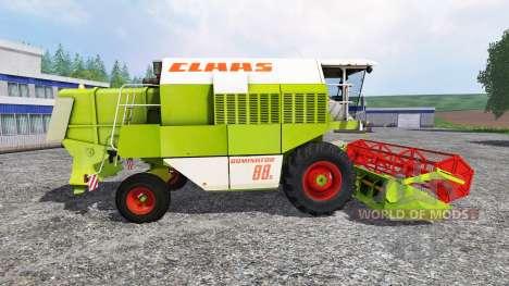 CLAAS Dominator 88S pour Farming Simulator 2015