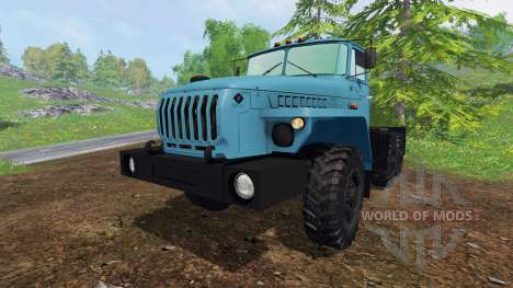 De l'oural-4320-1921-60M v1.0 pour Farming Simulator 2015