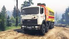 MZKT-7401 Volat für Spin Tires