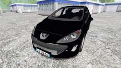 Peugeot 308 [unmarked police]