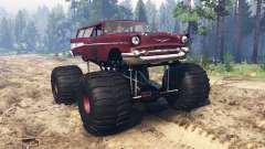 Chevrolet Bel Air Wagon 1957 [monster] pour Spin Tires