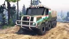 Tatra 163 Jamal 8x8 [update] pour Spin Tires