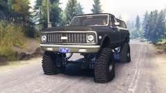 Chevrolet K5 Blazer 1972 für Spin Tires