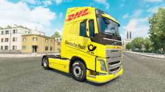 DHL skin für Volvo-LKW für Euro Truck Simulator 2